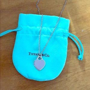 Tiffany Purple Heart necklace